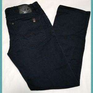 Buffalo Black Wash 'Sam-X' Slim Straight Jeans